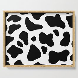 Cow Serving Tray