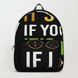 If I Win Its Skill Poker Backpack