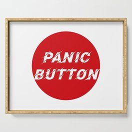 Panic Button II Serving Tray
