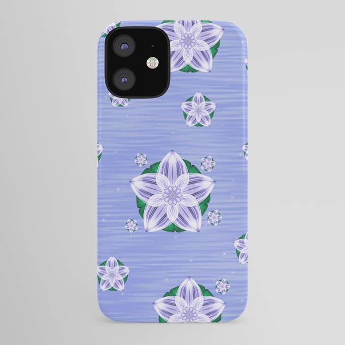 Frozen Floating Flower iPhone Case