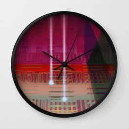 Atlante / CIRCUITS GLEAM Wall Clock