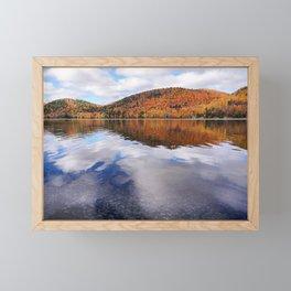 Fall Reflections Framed Mini Art Print