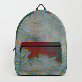 Analogue Glitch Radioactive Bouquet Backpack