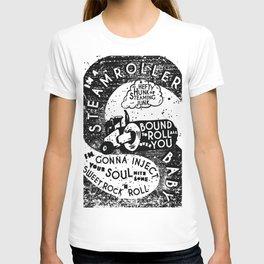 Steamroller Print T-shirt