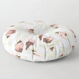 Swimming Girl Floor Pillow