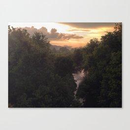 Potomac River Sunset Canvas Print