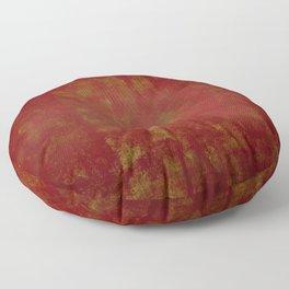 Grunge red background Floor Pillow