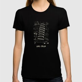Italia Christmas Gift Idea Present Birthday T-shirt