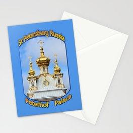 Peterhof Palace st Petersburg Russia Motif Stationery Cards