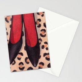 Black Heels Stationery Cards