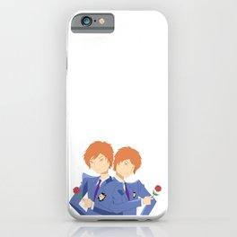 Twins host club iPhone Case