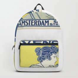 Ivens & Co Lithograph (Camera Advertisement) Backpack
