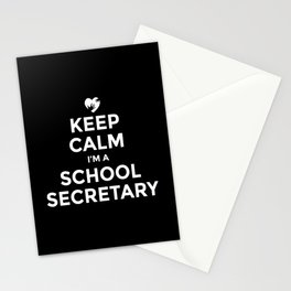 School secretary, office assistant Stationery Cards