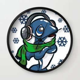 CHILLER WHALE Killer Ocean Gift Dolphin Wall Clock