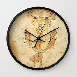 """Paul Klee """"Angelus Novus 1920"""" Wall Clock"""