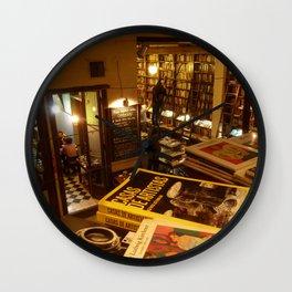 Libros del Pasaje, Buenos Aires Wall Clock