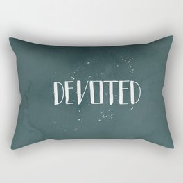 Devoted Themselves Rectangular Pillow