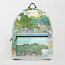 Guernsey Channel Islands Walk in the Sun Backpack