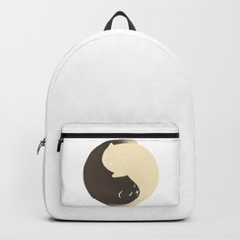 Hidden cat 9 Yin Yang kitty Backpack