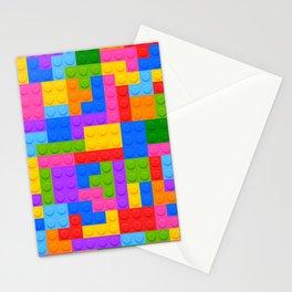 Blocks Brick Game Stationery Cards