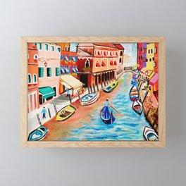 Canale Grande Framed Mini Art Print
