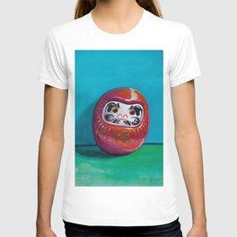 Daruma doll - talisman of good luck T-shirt