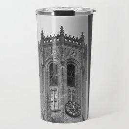 Framing the Belfry of Bruges - Travel photography Belgium | black&white photo print of europe  Travel Mug