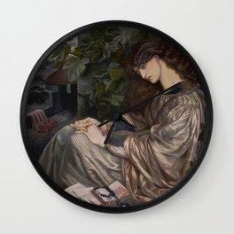 Dante Gabriel Rossetti  -  La Pia De Tolomei Wall Clock