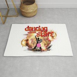 Dancing with the Stars Disco Balls Crashing 2 Resized Rug