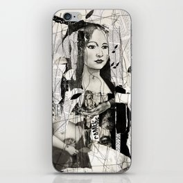 to be a woman, to be a girl iPhone Skin