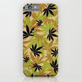 Camo Weed iPhone Case