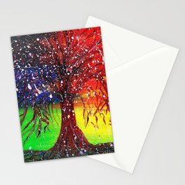 Magic Dew Drop Tree Stationery Cards
