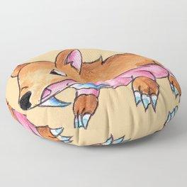 Sabertooth Piggy Floor Pillow