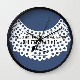 Real Change, Enduring Change - RBG Wall Clock