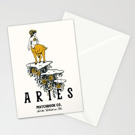 Aries: Set The World On Fire Stationery Cards
