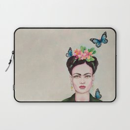 Tropical Frida by Andrea Laptop Sleeve