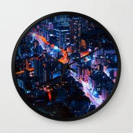 Tokyo 13 Wall Clock