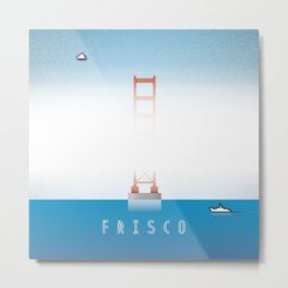 Frisco Bay Metal Print