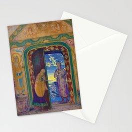 Nicholas Roerich - The Messenger - Digital Remastered Edition Stationery Cards