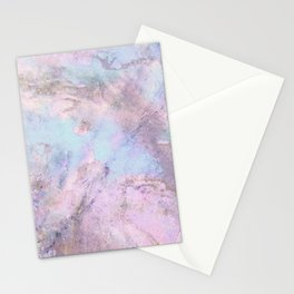 Iridescent Shadows Marble Stationery Cards