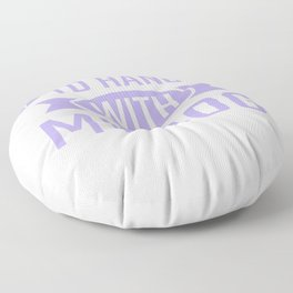 I Just Want To Hang With My Dog 2 pp Floor Pillow