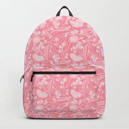 Eucalyptus Pink Summer Garden Backpack