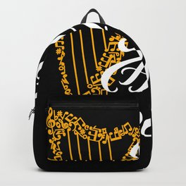 eat sleep harp repeat Backpack