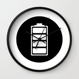 Charged Ideology Wall Clock