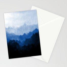 Mists - Blue Stationery Cards