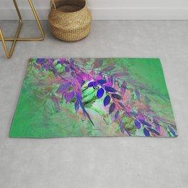 Leaf Illusion 1 Rug