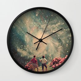 There will be Light in the End Wall Clock