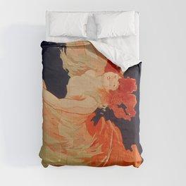 Folies-Bergere, La Loie Fuller - Amazing Vintage Dancer Comforters