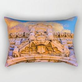 PORTAL dos Templários. Jerónimos Monastery. Rectangular Pillow