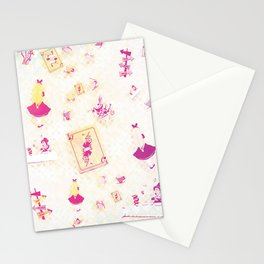 Whimsical Alice Stationery Cards